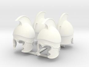 ATTIC-CORINTHIAN HELMET V2 X4 in White Processed Versatile Plastic