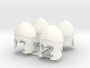 ATTIC-CORINTHIAN HELMET X4 in White Processed Versatile Plastic