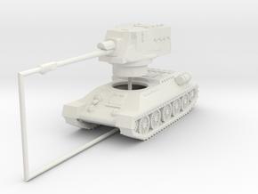 1/144 T-34-122 Egyptian SPG in White Natural Versatile Plastic