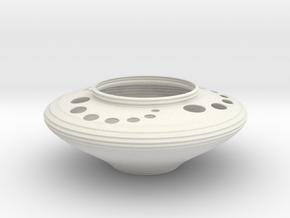 Bowl CC43 in White Natural Versatile Plastic