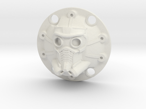 WPL 1/16th Star Lord Diff Cover in White Natural Versatile Plastic