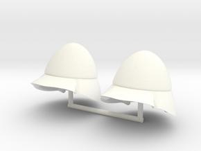 BEOTIAN HELMET #1.2  in White Processed Versatile Plastic