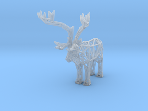 Caribou (adult male) in Smooth Fine Detail Plastic