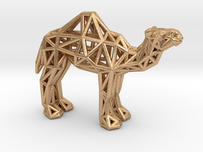 Dromedary Camel (adult) in Natural Bronze