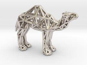 Dromedary Camel (adult) in Platinum