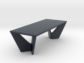 Miniature Suspens Dining Table - Roche Bobois  in Black PA12: 1:24