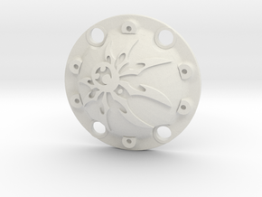 WPL Spider Diff Cover in White Natural Versatile Plastic