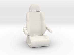 Printle Thing Plane seat - 1/35 in White Natural Versatile Plastic