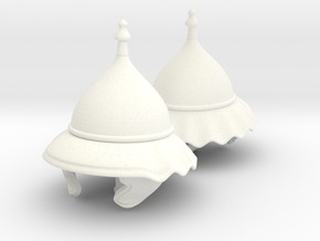 GAUL HELMET 1 X2 in White Processed Versatile Plastic
