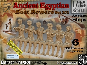 1/35 Ancient Egyptian Boat Rowers Set101 in Smooth Fine Detail Plastic