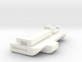 Lancia delta 1 sunroof guide Right in White Processed Versatile Plastic