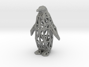 Emperor Penguin in Gray Professional Plastic