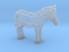 Common Zebra (adult) in Smooth Fine Detail Plastic