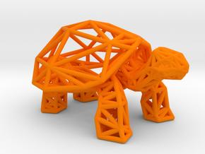 Galapagos Giant Tortoise in Orange Processed Versatile Plastic