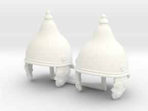 GAUL HELMET 4 X2 in White Processed Versatile Plastic