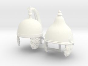 GAUL HELMET 3 AND 4 in White Processed Versatile Plastic