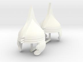 GAUL HELMET 6 X2 in White Processed Versatile Plastic