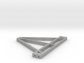 Front Triangle for Trailer Chassis 1/10 scale in Aluminum