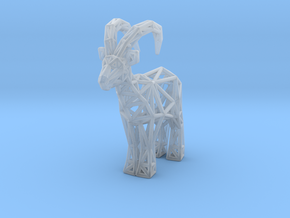Ibex (adult male) in Smooth Fine Detail Plastic