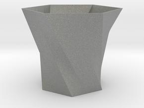 Simple vase in Gray PA12