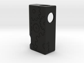 V3 18650 DIY Frame in Black Natural Versatile Plastic