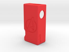 V3 18650 Avengers DIY Frame in Red Processed Versatile Plastic