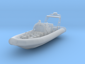 1/87 Juliet 3 Water Jet RHIB in Smooth Fine Detail Plastic