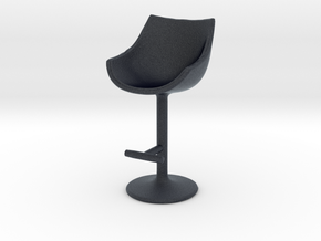 Miniature 248 Passion Stool - Cassina in Black PA12: 1:12