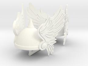 GAUL HELMET 5 X2 in White Processed Versatile Plastic