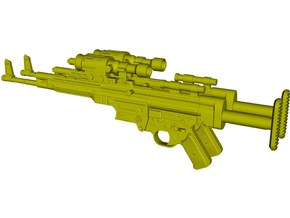 1/6 scale BlasTech A295 Star Wars V blasters x 2 in Smooth Fine Detail Plastic