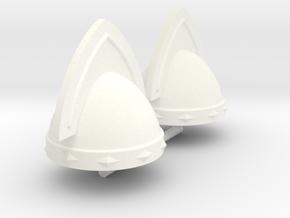 GAUL HELMET #13 x2 in White Processed Versatile Plastic