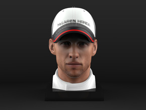 Jenson 1/4 Head Figure in Full Color Sandstone