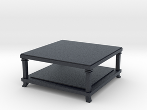 Miniature 610 Robie 2 Table - Cassina in Black Professional Plastic: 1:12