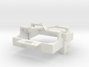 Mamba Monster X fan mount for 30 mm fan switch c in White Premium Versatile Plastic