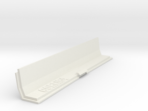 Amiga 500 Expansion Port Cover in White Natural Versatile Plastic