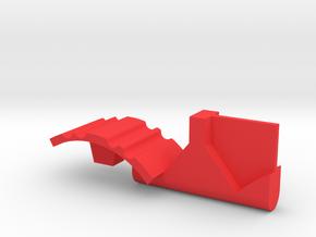 Warthog throttle part - Airbus in Red Processed Versatile Plastic
