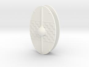 GAUL SHIELD #2 X2 in White Processed Versatile Plastic