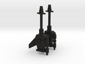 MC-16 Egg Weapons in Black Natural Versatile Plastic
