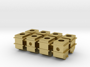 119 tender journal boxes in Natural Brass