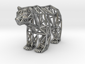 Grizzly Bear (adult) in Natural Silver