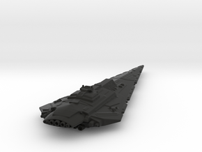 Imperial Bellator Star Dreadnought/Battlecruiser L in Black Natural Versatile Plastic
