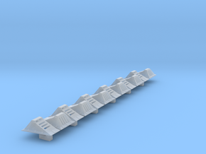 Echo Base Ground Lights 1:72 Tapered in Smooth Fine Detail Plastic
