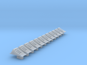 Echo Base Ground Lights 1:144, Parallel in Smooth Fine Detail Plastic