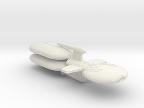 3788 Scale Gorn Brontosaurus+ Fleet Tug (2 Pods) in White Natural Versatile Plastic