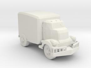 Jeeper's creeper Van v1 87 scale in White Natural Versatile Plastic
