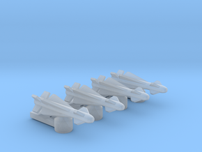 Omni Scale General Type-IV Heavy Anti-Ship Drones  in Smooth Fine Detail Plastic