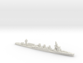 IJN CL Natori [1941] in White Natural Versatile Plastic: 1:1200