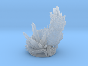 Crystal Dragon 54mm in Smooth Fine Detail Plastic