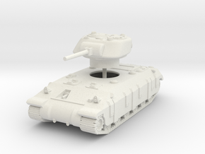 1/87 (HO) T14 Assault tank in White Natural Versatile Plastic