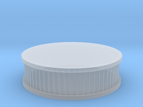 air filter round 1/12 in Smooth Fine Detail Plastic